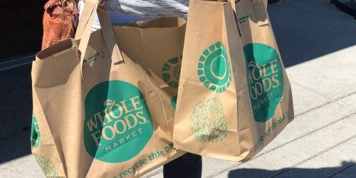 10% Cash Back at Whole Foods Market for Amazon Rewards Visa Cardholders (12/17-12/24 Only)