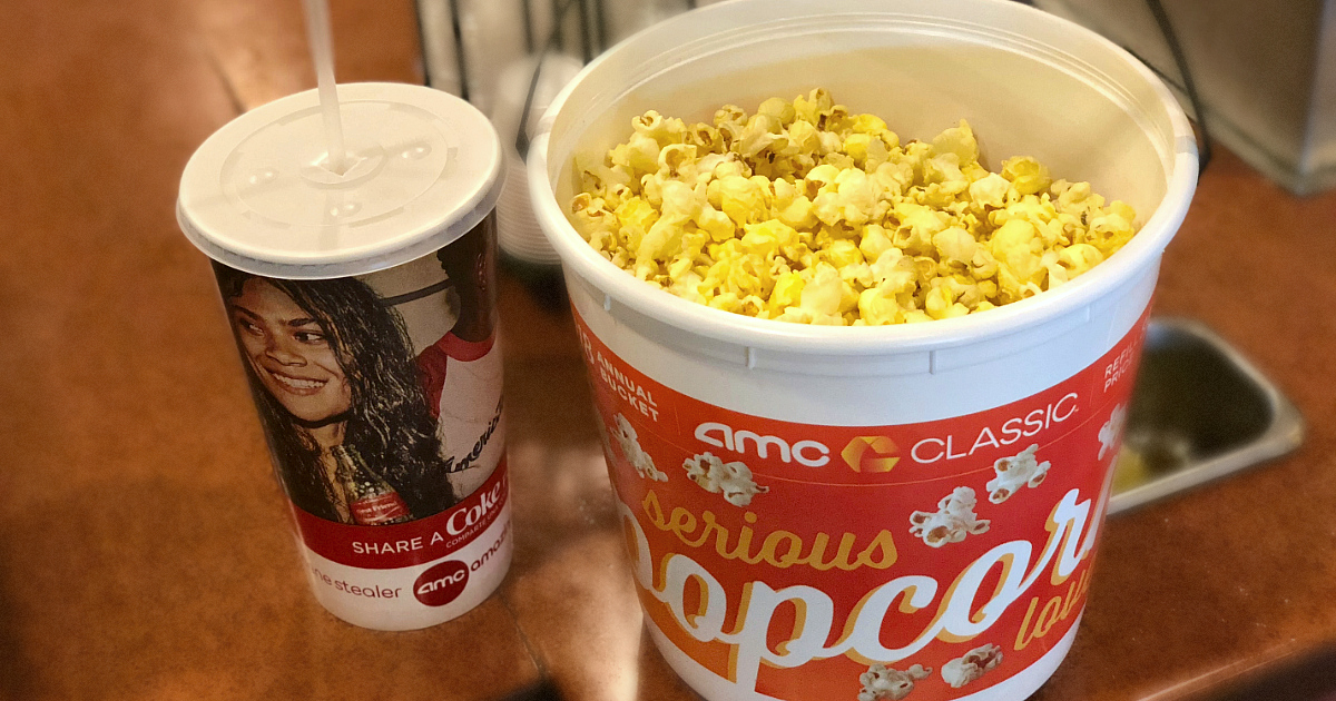 Stores, restaurants, hotels, and other places that offer senior discounts – AMC popcorn and soda