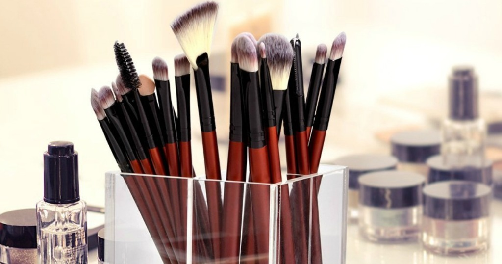 Anjou 24-Piece Makeup Brush Set