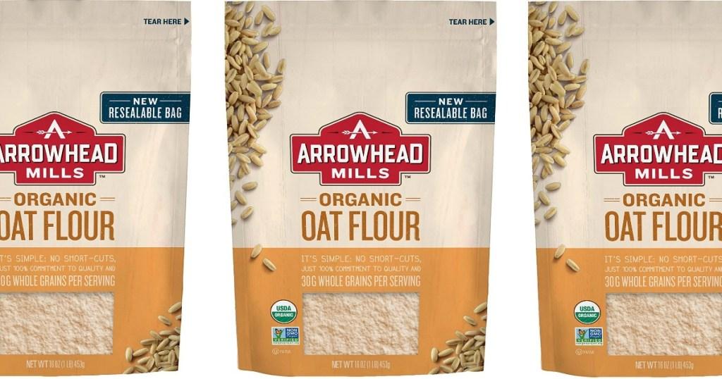 arrowhead organic oat flour