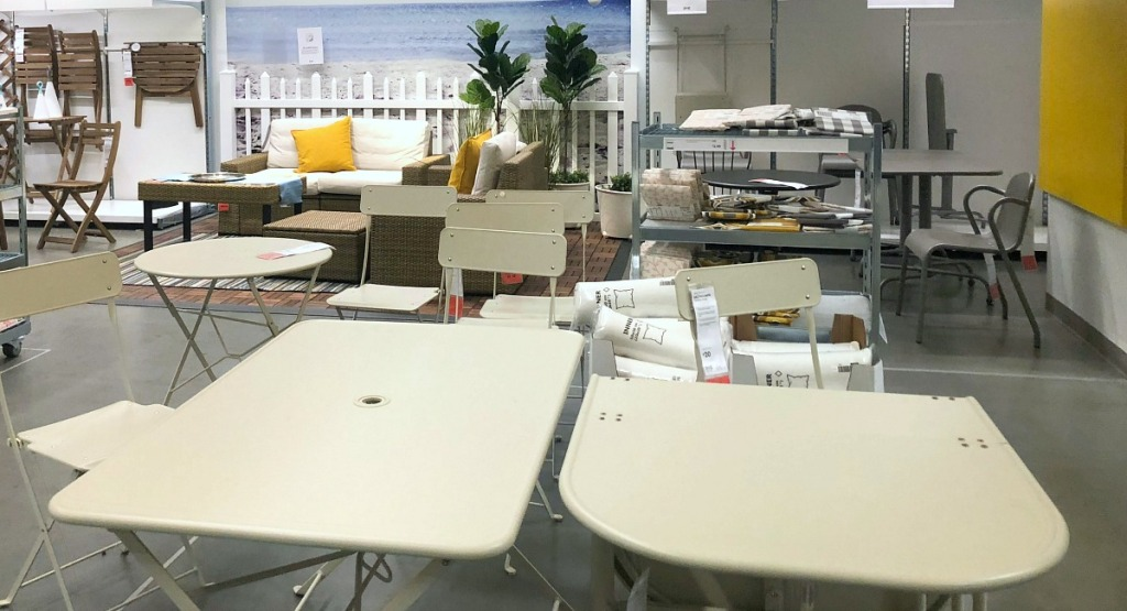 ikea shopping tips — shop the as-is section