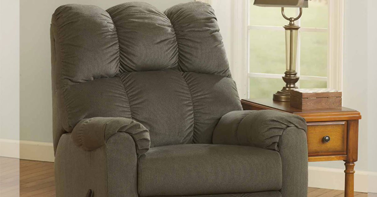 70% Off Ashley Raulo Rocker Recliner At JCPenney