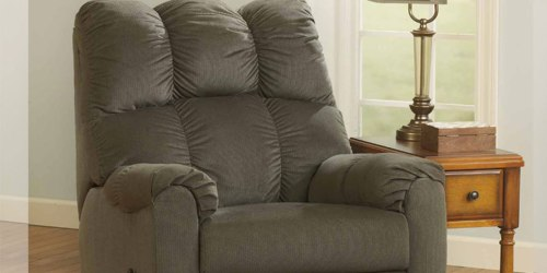 70% Off Ashley Raulo Rocker Recliner at JCPenney – Just $254 Delivered (Regularly $800)