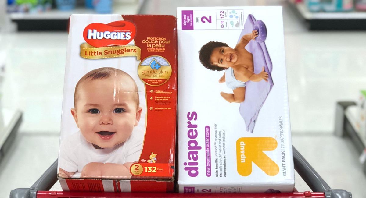 generic baby brands — diapers