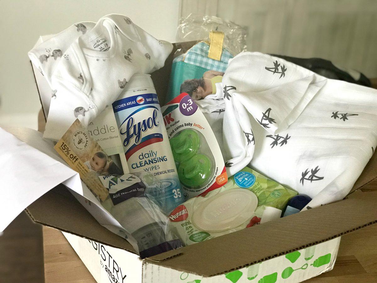 baby welcome box on Amazon