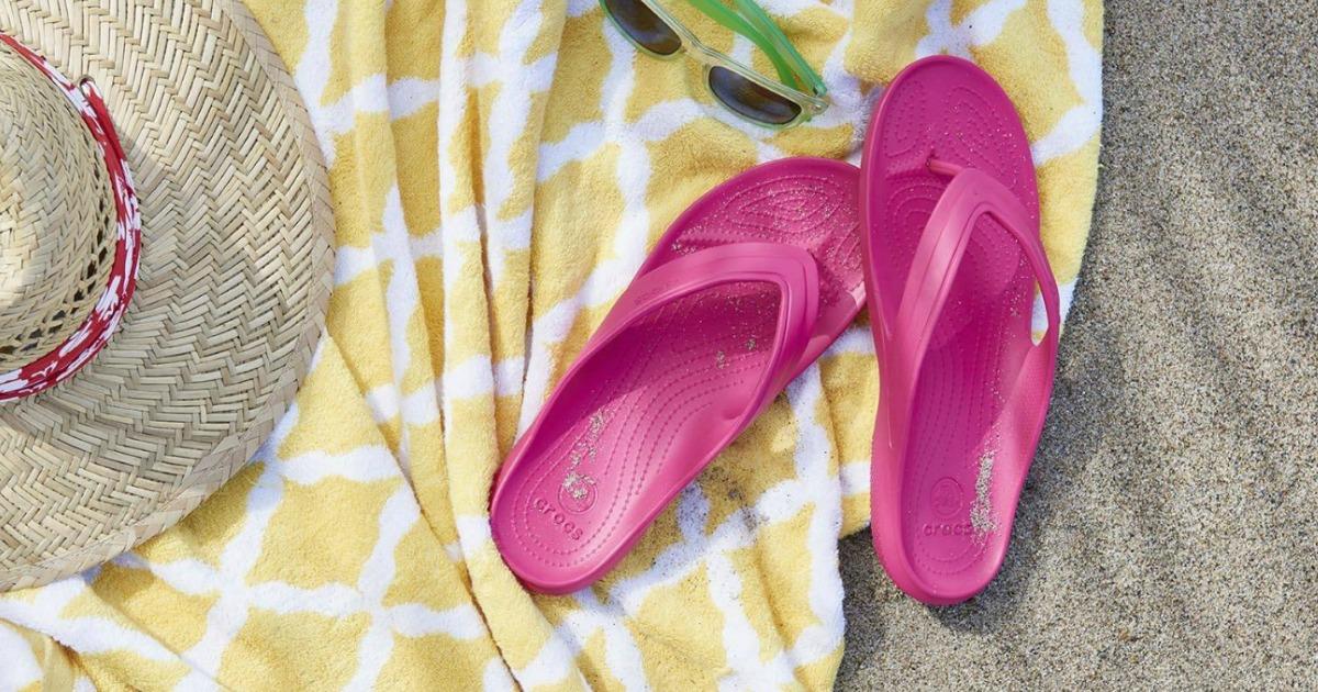 a2c7992af920 Crocs Women s or Men s Baya Flip Flops Only  10.99 + More - Hip2Save