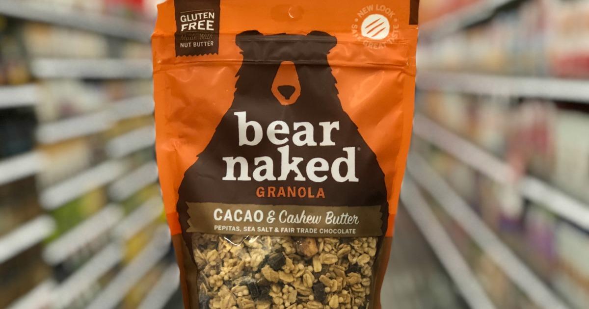 Bear Naked granola bag in store