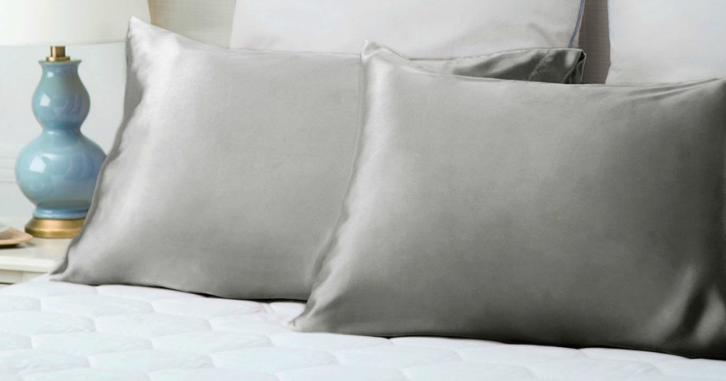 Amazon Bedsure Standard Satin Pillowcase 2 Pack Only 7