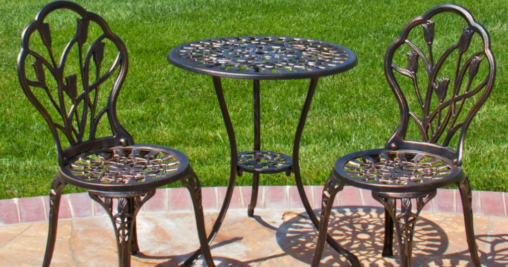 Better Homes And Gardens Outdoor Bistro Set Only 74 Shipped Regularly 119