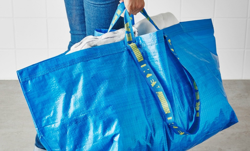 ikea shopping tips — bring your own bag