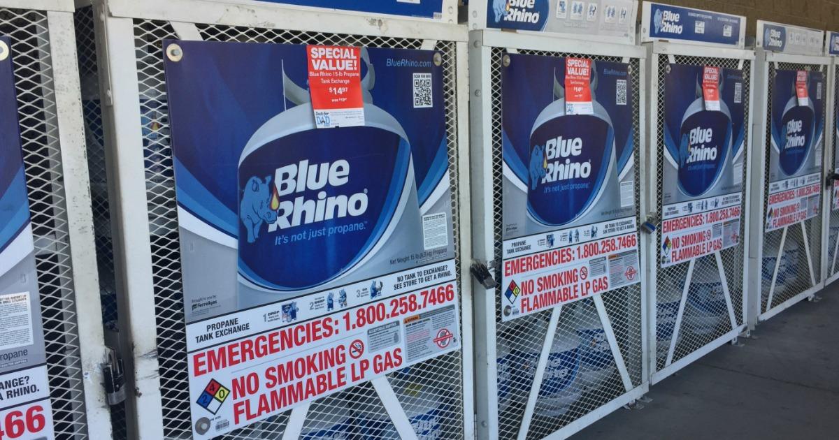 Outdoor Blue Rhino Tank racks