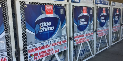 High Value $3/1 Blue Rhino Propane Tank Coupon + $3 Mail-In Rebate