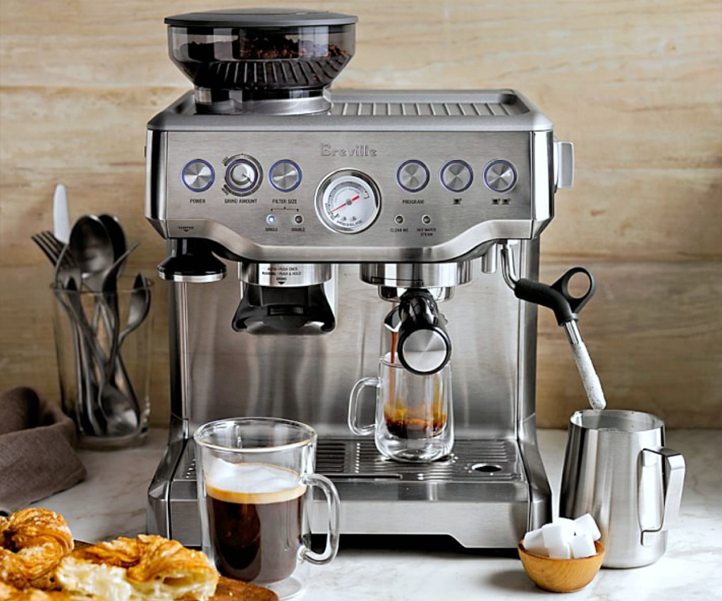 hip2save birthday giveaway — breville espresso machine