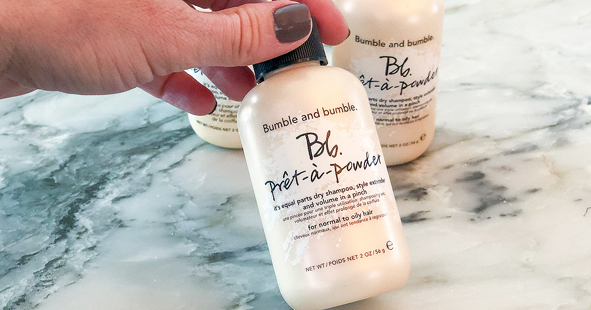 dry shampoo hair product by bumble & bumble - in the bottle