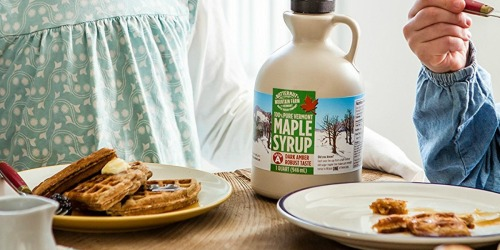 100% Pure Maple Syrup Quart Only $14 Shipped at Amazon