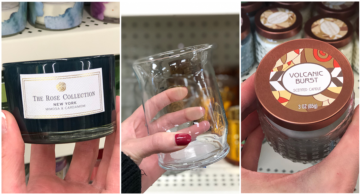 things to buy or avoid at dollar tree – buy candles and candle holders