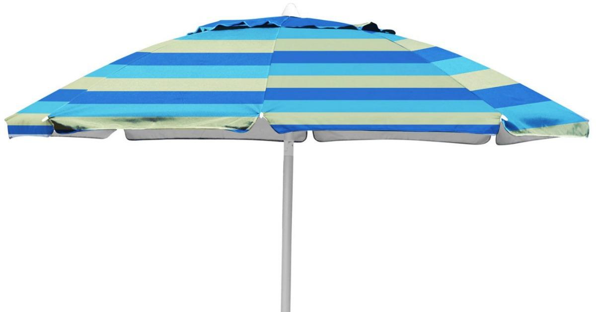 Walmart Caribbean Joe 7 Ft Beach Umbrella Only 8 05