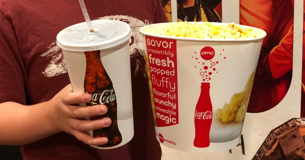 photo about Amc Printable Coupons known as Cost-free AMC Hefty Consume, Popcorn Online video Tickets for My Coke