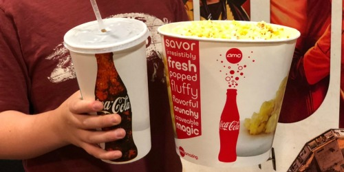 TWO Free Movie Tickets, Popcorn & Drinks for My Coke Rewards Members (Enter 35 Codes)