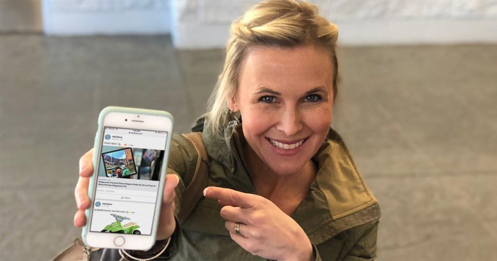 ways to make saving money easy — follow hip2save on social media