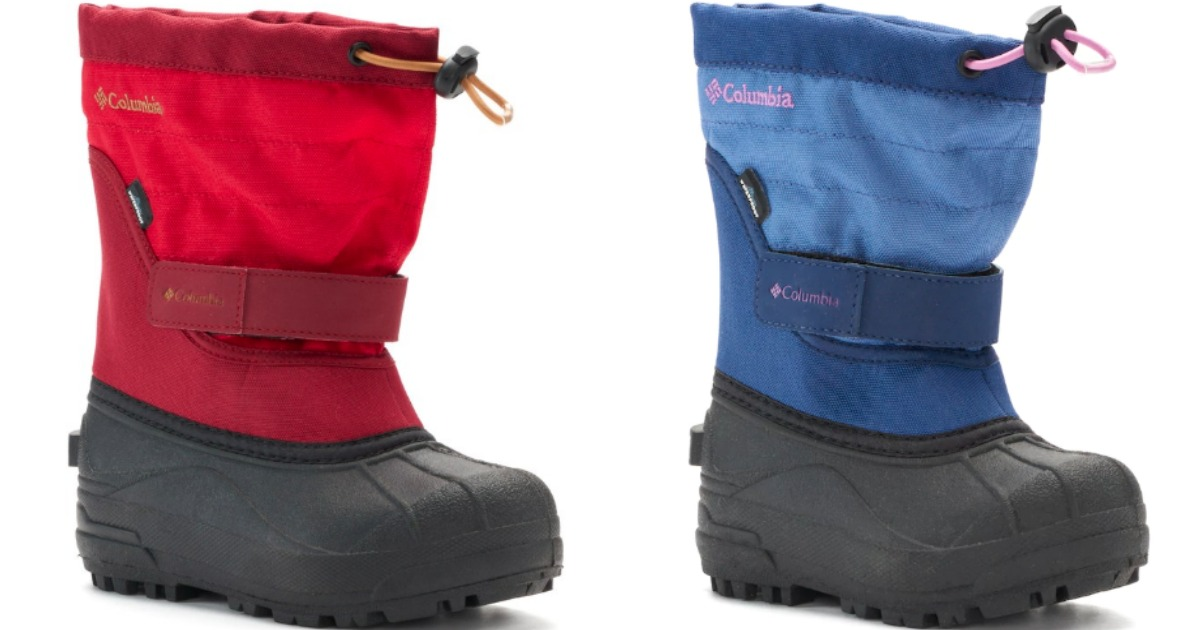 Columbia Kids Boots Starting at $16.50