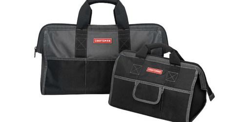 Sears.com: Craftsman Tool Bag Combo Set Just $12.39 (Regularly $30)