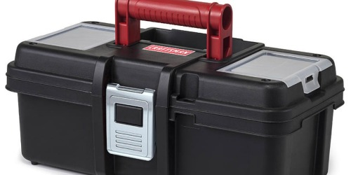 Sears: Craftsman 13″ Tool Box Only $4.99 (Regularly $10)