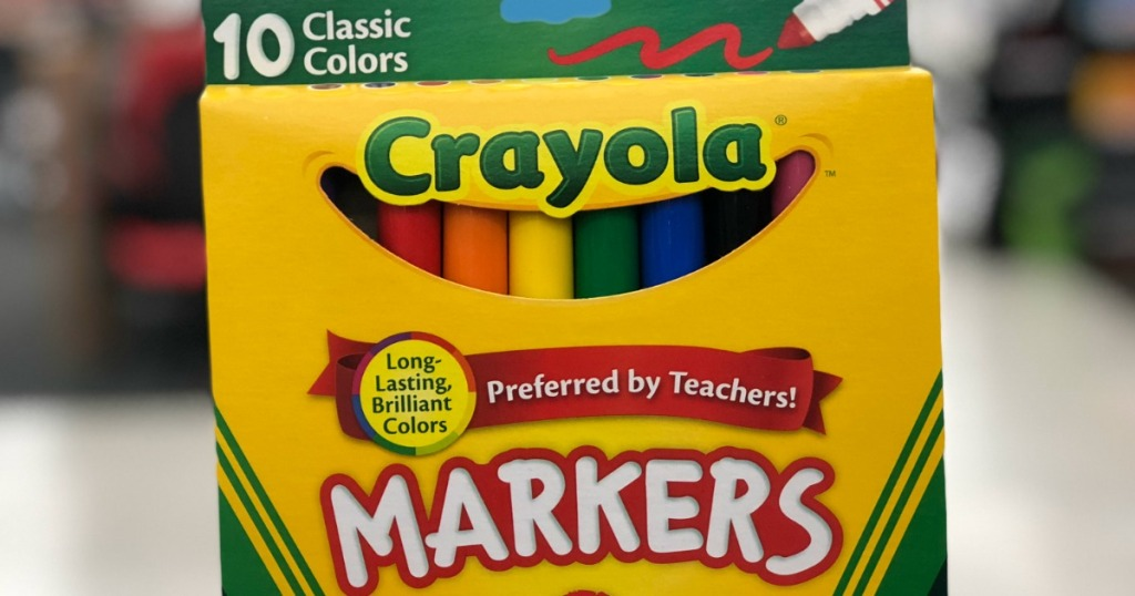 Crayola classic markers 10 count