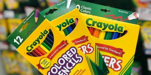 Crayola Markers ONLY $1 at Office Depot/OfficeMax + More Savings on School Supplies
