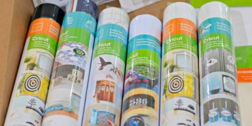 50% Off Cricut Rolls on JOANN.com | Vinyl, Foil, Printable & More