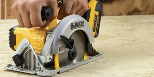 Up to 65% Off DeWalt Power Tools at The Home Depot + Free Shipping