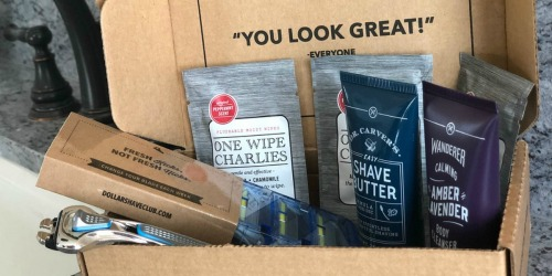 Dollar Shave Club Kit Only $5 Shipped – Includes Razor, Cartridges, Shave Butter & More