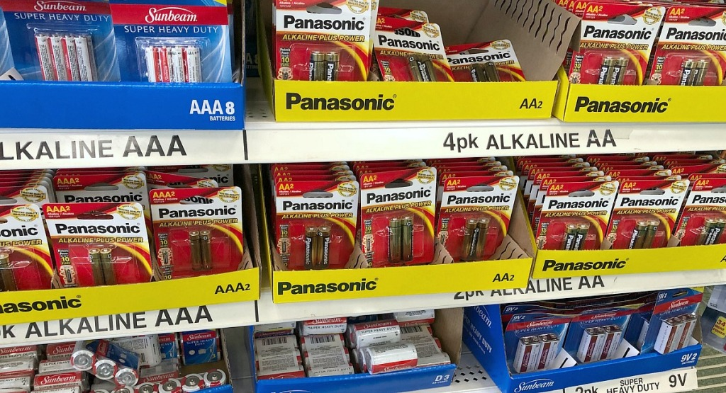 dollar tree finds — batteries