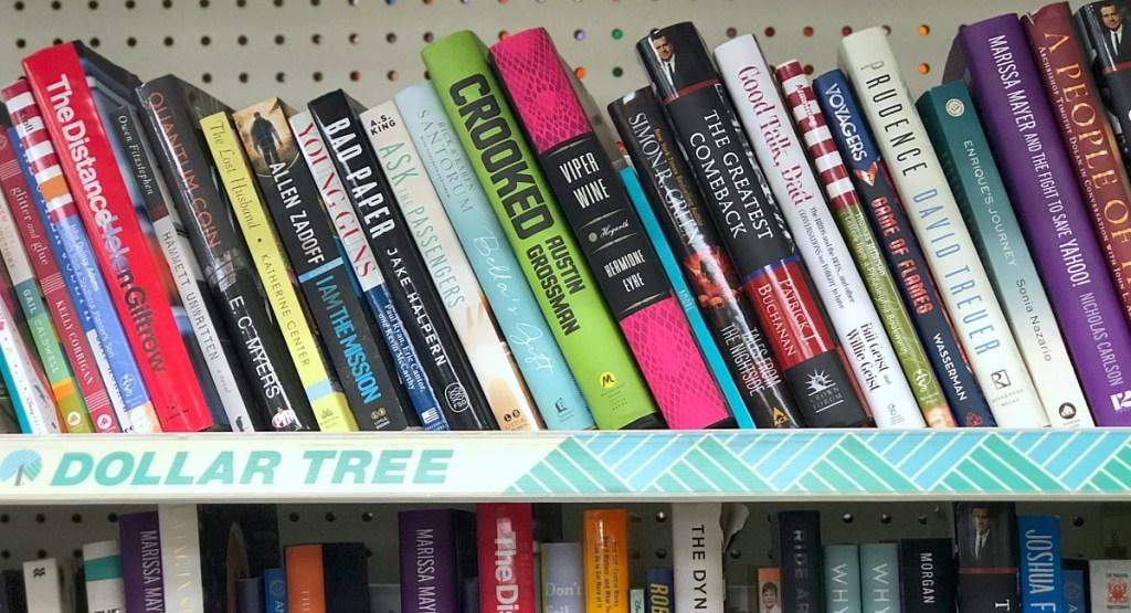 dollar tree must buys — books
