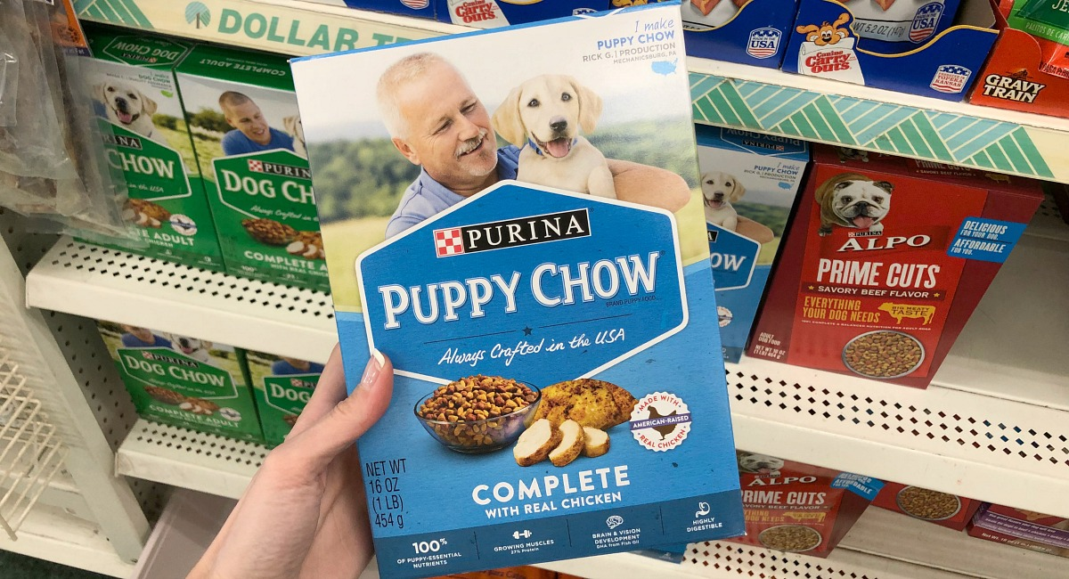 things to buy or avoid at dollar tree – Purina puppy chow