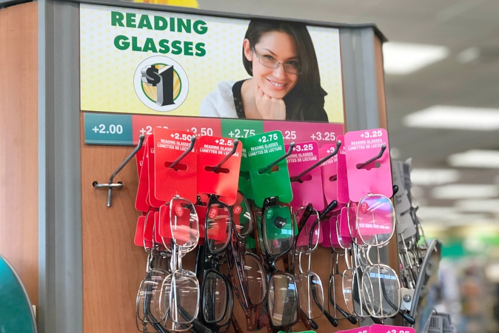 dollar tree must buys — reading glasses