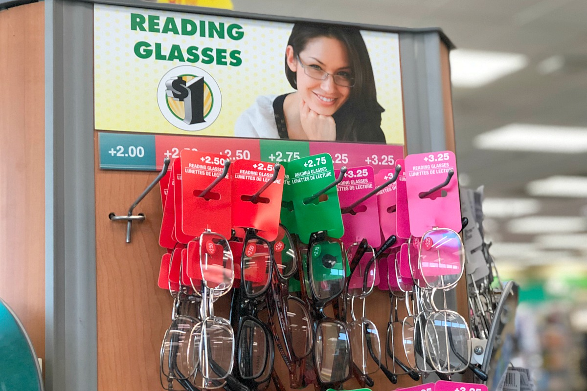 things to buy or avoid at dollar tree – buy reading glasses