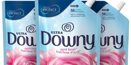 Downy Ultra Fabric Conditioner 3-Pack Pouches Only $5.82 Shipped at Amazon