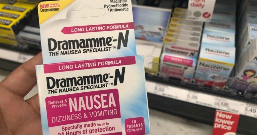 70% Off Dramamine-N Nausea Relief at Target - Hip2Save