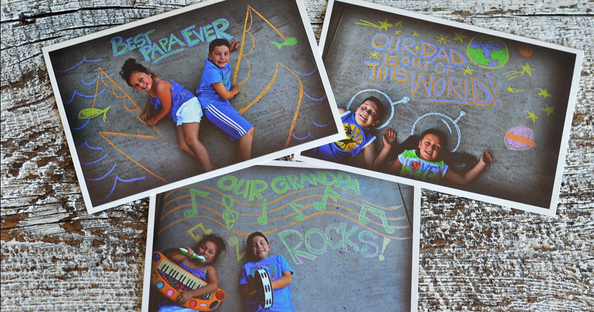 Hip2Save's Top 10 Recipe & DIY Posts of All Time –– father's day chalk art