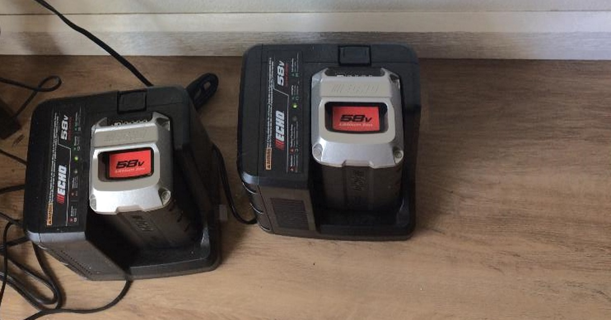 echo electric lawnmower review - rechargeable batteries