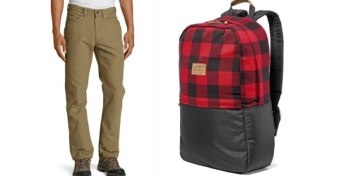 Up to 70% Off Eddie Bauer Jeans, Backpacks & More