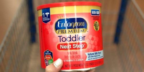 Free Enfagrow Premium Toddler Next Step Sample