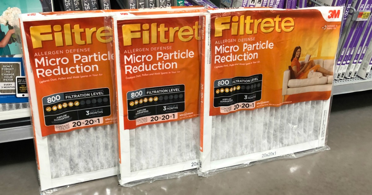 filtrete allergen defense air filter 3 pack just 15 88 5 29 per