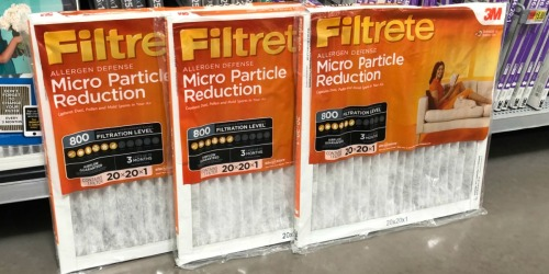 Filtrete Air Filters 3-Pack from $12.88 After Rebate on Walmart.com