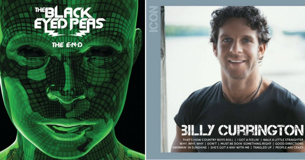 Free Icon Mp3 Album Downloads Black Eyed Peas Billy Currington More Hip2save
