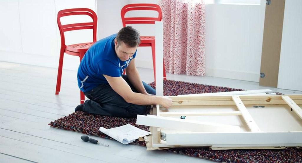 ikea shopping hacks — use wood glue to make furniture last longer