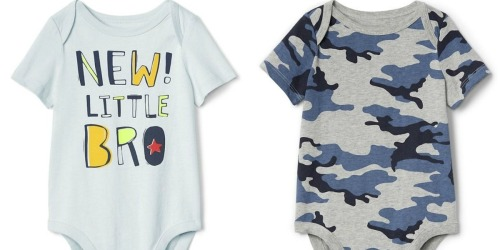 Up to 80% Off Gap Baby Bodysuits