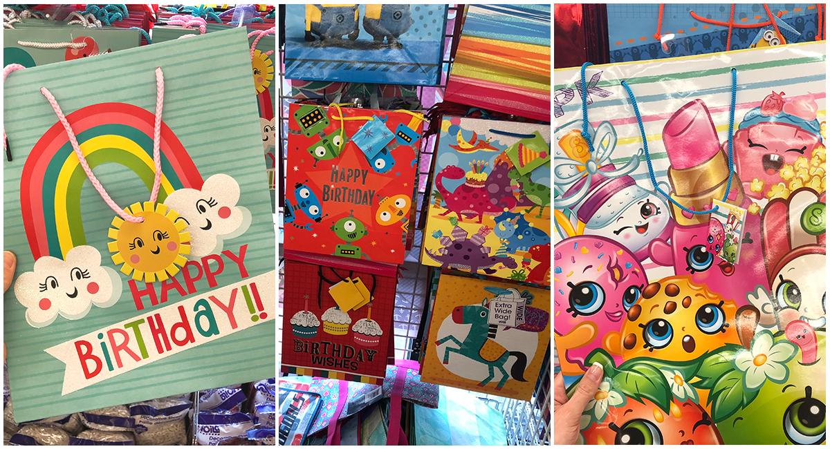 things to buy or avoid at dollar tree – buy gift bags