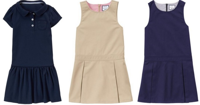 Gymboree Girls Uniform Dresses Just $7.98 Shipped (Regularly $30) & More